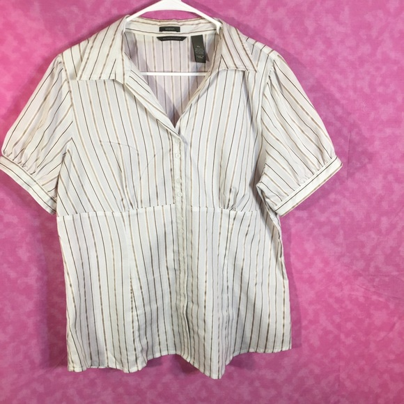 Hilliard and Hanson Nice Stretch Blouse! Size XL